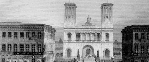 Das Gebäude der Petrikirche