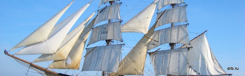 Открытая палуба брига Роальд Амундсен 1 и 2 сентября