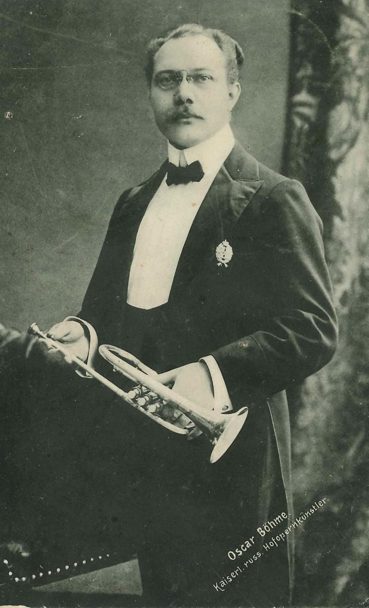 Оскар Бёме, 1909