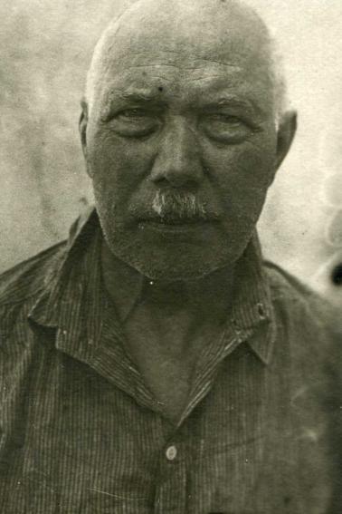Оскар Бёме после ареста, 1938